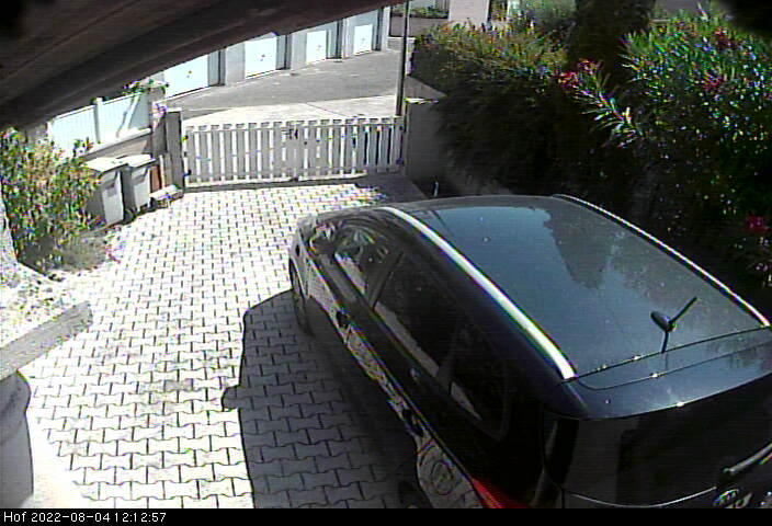 Webcam in Mansle